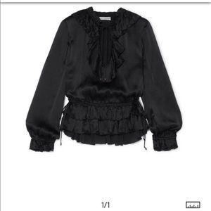 Ulla Johnson Black Blouse Silk 6